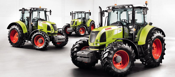 Photo du Tracteurs agricoles Arion 640 (2008)