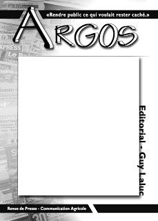 Photo du magazines, journaux agricoles Argos