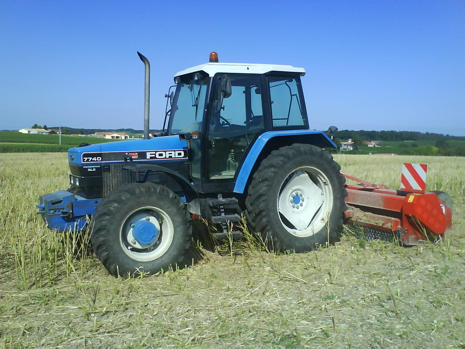 Photo du Tracteurs agricoles 7740SL Ou SLE