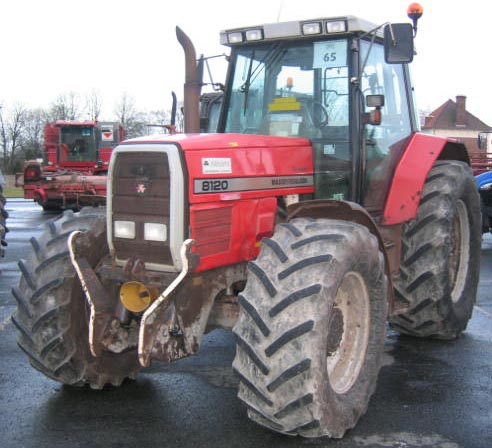 Photo du Tracteurs agricoles MF 8120