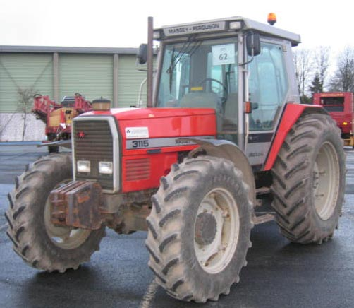 Photo du Tracteurs agricoles MF 3115