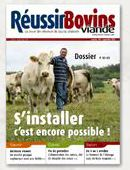 Photo du magazines, journaux agricoles Reussir Bovins Viande