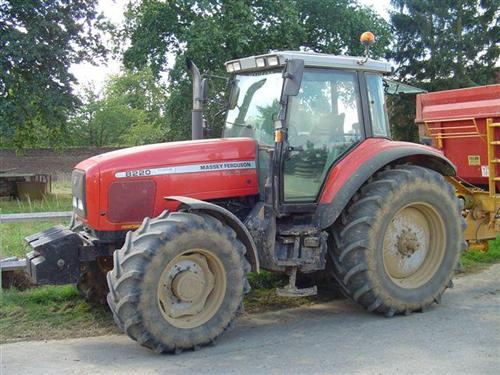 Photo du Tracteurs agricoles MF 8220