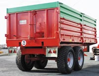 Photo du Remorques agricoles Cargo ridelles