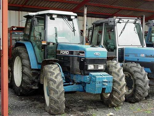 Photo du Tracteurs agricoles 7840 SLE
