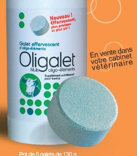 Photo du Aliments minéraux et vitaminiques Oligalet