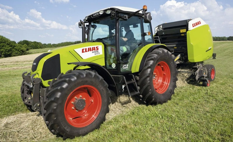 Photo du Tracteurs agricoles Axos 340