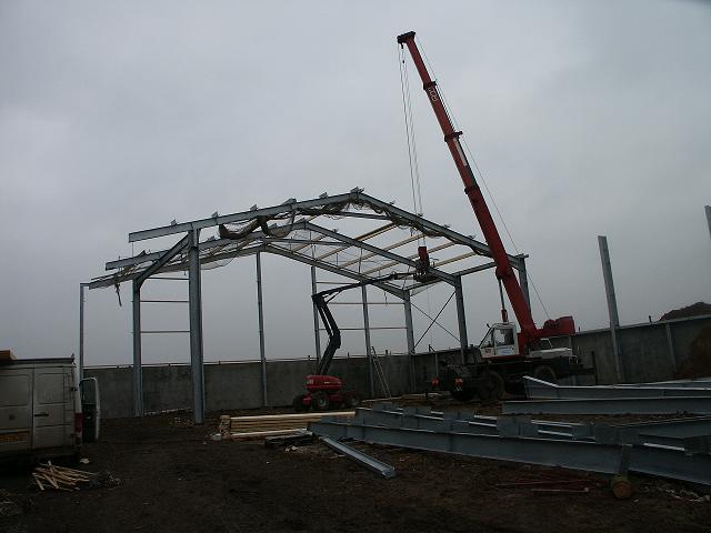 Photo du Construction bâtiments Construction métallique
