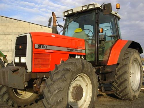Photo du Tracteurs agricoles MF 8110