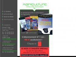Photo du magazines, journaux agricoles Agriculture et Nouvelles Technologies