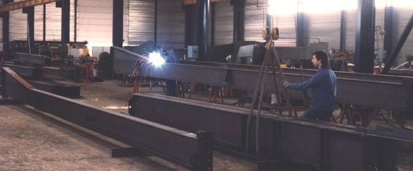 Photo du Construction bâtiments bâtiments à structure métallique
