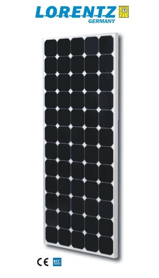 Photo du Energie photovoltaïque Panneau solaire très haut rendement 160 Watts nominal - 24 Volts
