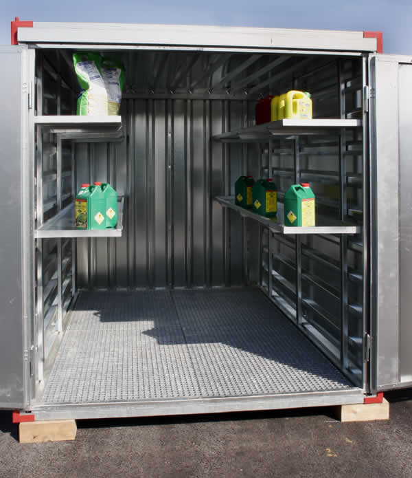 Photo du Locaux phytosanitaires Containers phytosanitaires