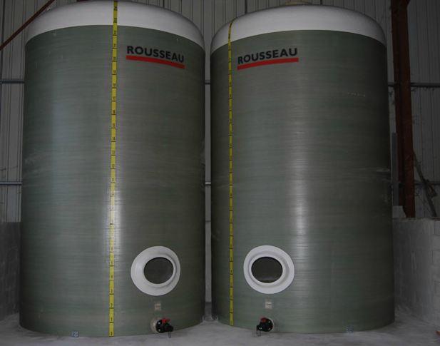 Photo du Cuves, citernes Cuves polyester de 6 à 150 m3