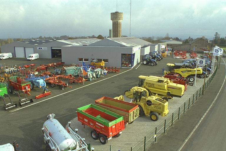 Photo du Vente de matériels neufs Concessionnaires New Holland, Case et distributeurs Promodis