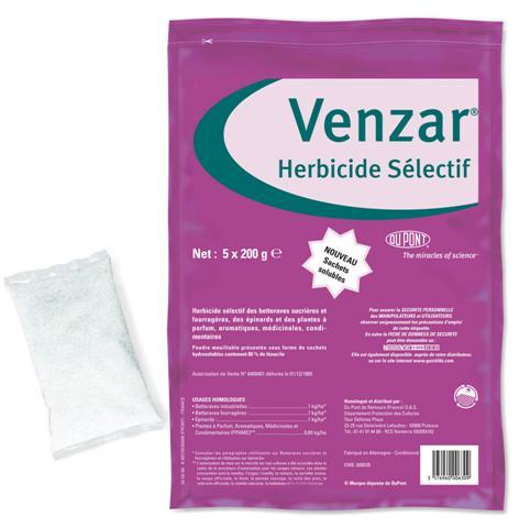Photo du Herbicides cultures industrielles Venzar