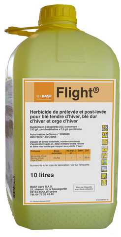 Photo du Herbicides céréales Flight