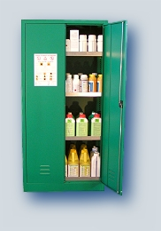 Photo du Locaux phytosanitaires Armoire de stockage de produits phytosanitaires de 1m3