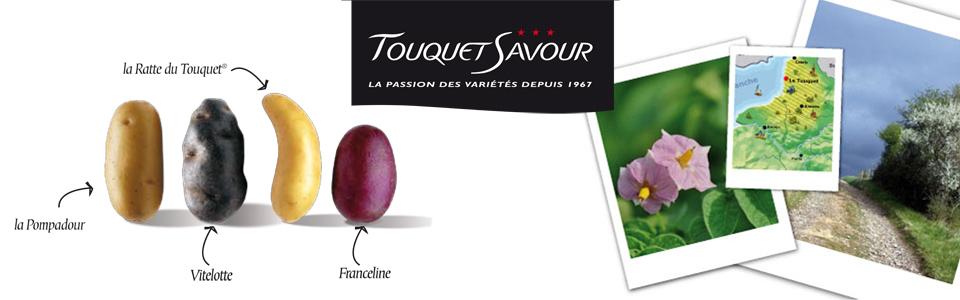 Photo du Commercialisation des pommes de terre Commercialisation des variétés Vitelotte, Ratte, Pompadour et Franceline