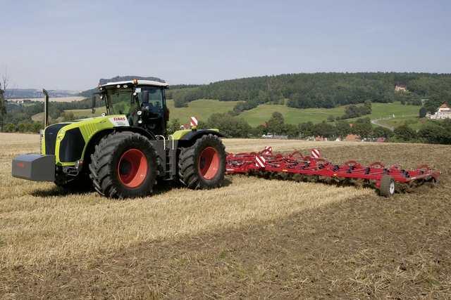 Photo du Tracteurs agricoles Xerion 5000 (2010)