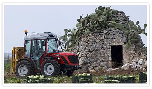 Photo du Tracteurs vignerons Ergit 100 - TRX 7800/9800/10400