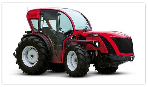 Photo du Tracteurs fruitiers Série Ergit 100 – TGF 9800/10400