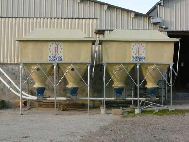 Photo du Cellules de stockage silo de stockage d\'aliments