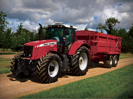 Photo du Tracteurs agricoles MF 6455 Dyna-6