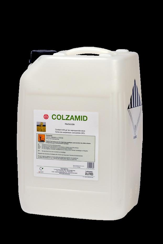 Photo du Herbicides Oléagineux Colzamid