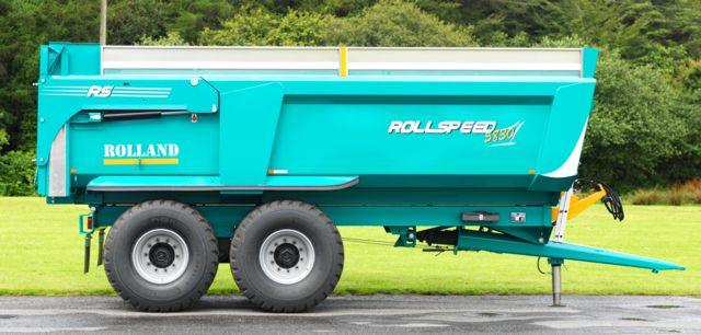 Photo du Remorques agricoles Rollspeed (de 27 à 44 m3 de capacité)