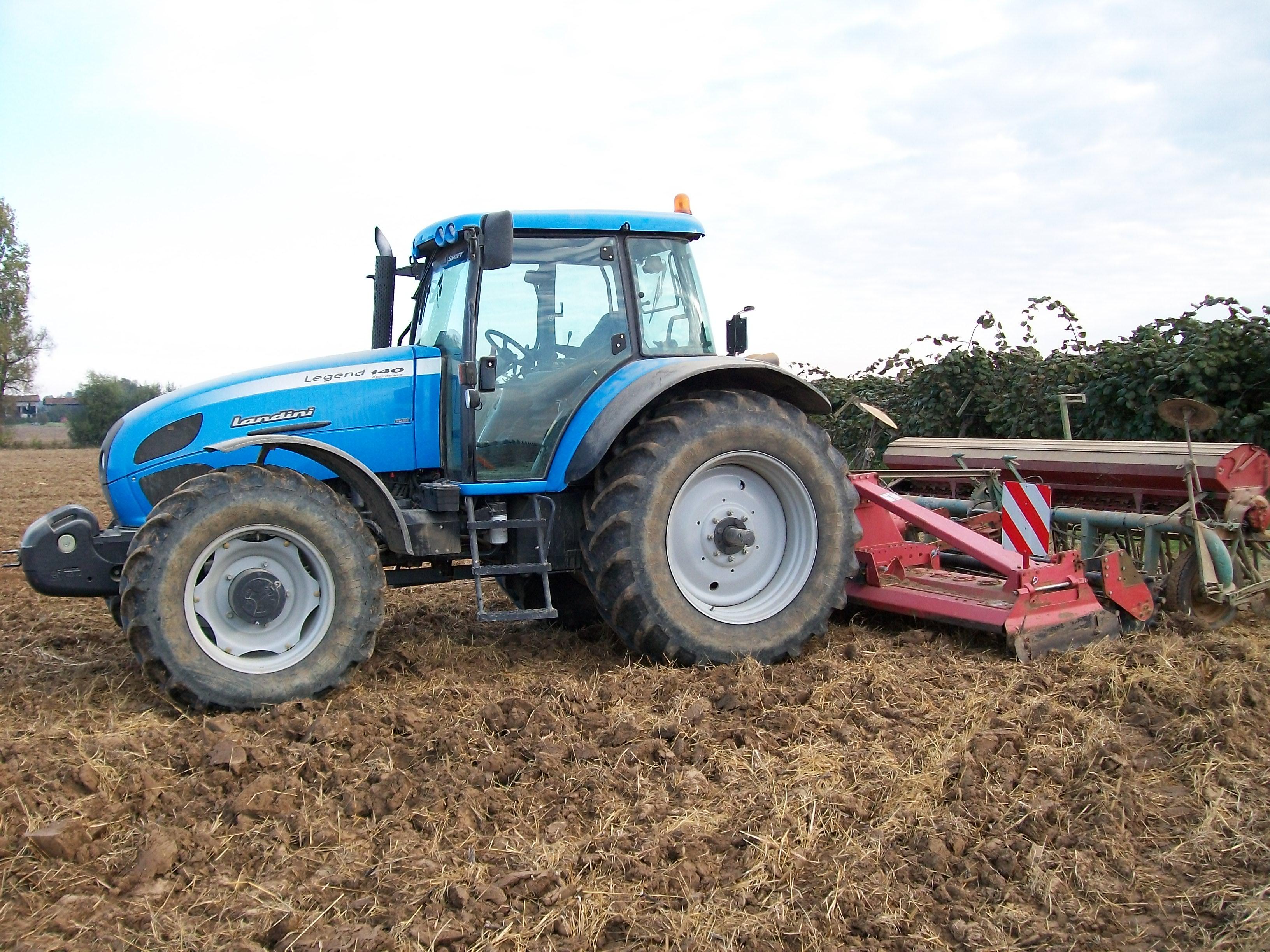 Photo du Tracteurs agricoles Legend 140 Deltashift