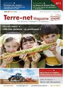 Photo du magazines, journaux agricoles Terre-net Magazine