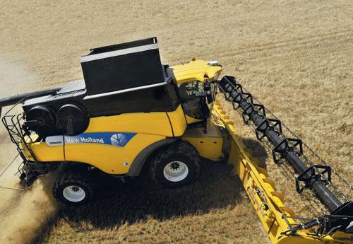 Photo du Moissonneuses-batteuses à rotor CR9090 Elevation