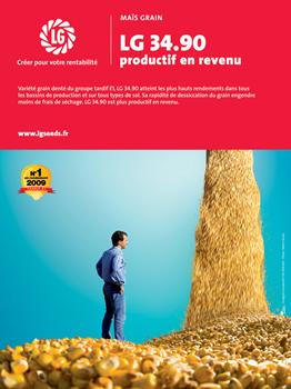 Photo du Variétés de maïs grain LG 34.90