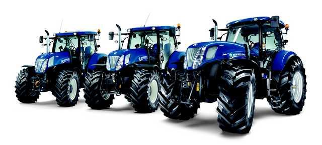 Photo du Tracteurs agricoles T7.210 Blue Power