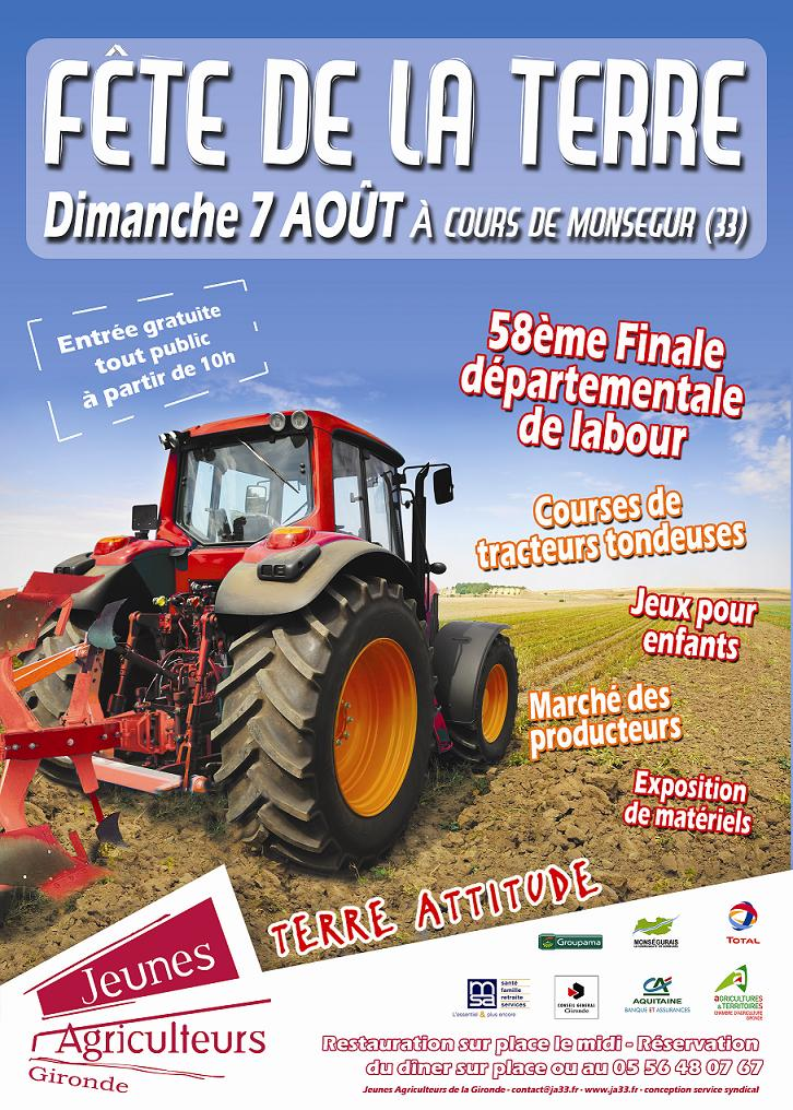 Photo du Salons professionnels Fête de la Terre (JA Gironde)