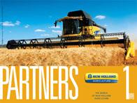 Photo du lettres, magazines promotionnels Partners