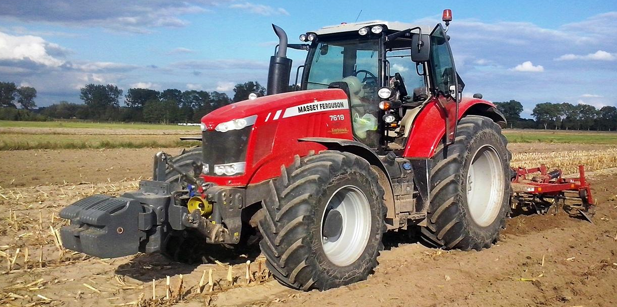 Photo du Tracteurs agricoles MF 7619