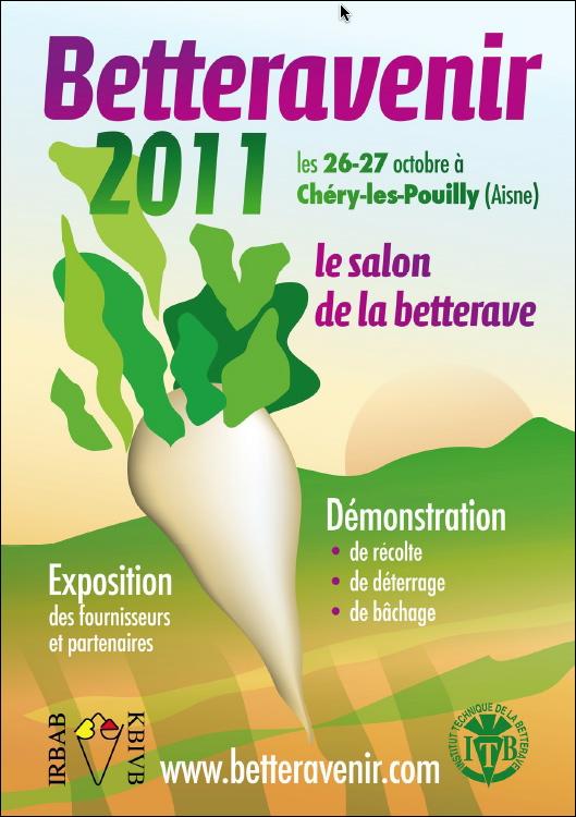Photo du Salons professionnels Betteravenir 2011