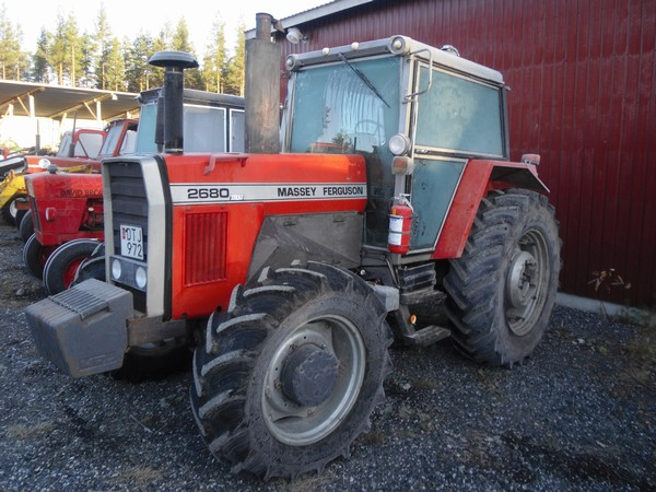 Photo du Tracteurs agricoles MF 2680