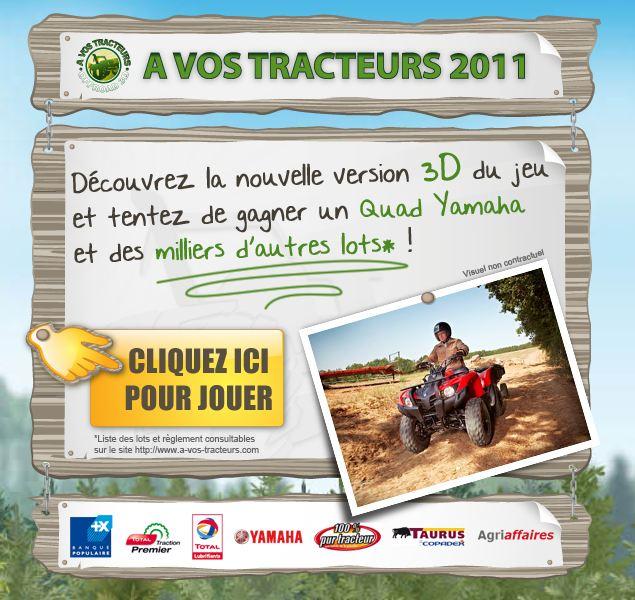 Photo du Jeux des firmes A vos tracteurs 2011