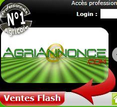 Photo du Sites internet de matériels agricoles d'occasion Agriannonce.com