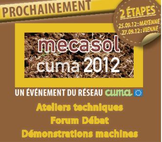 Photo du Salons professionnels Mécasol 2012