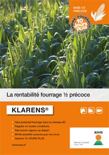 Photo du Variétés de maïs fourrager Klarens