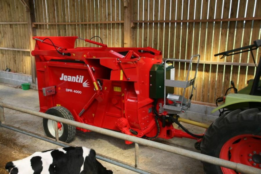Photo du Désileuses-pailleuses DPR 4000 SD démêleur mécanique
