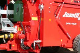 Photo du Désileuses-pailleuses DPR 4000 SD à démêleur hydraulique