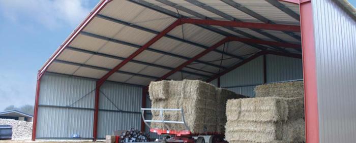 Photo du Construction bâtiments Hangars agricoles 2 pentes