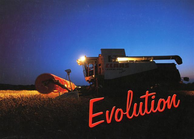 Photo du Moissonneuses-batteuses à secoueurs Lexion 460 Evolution