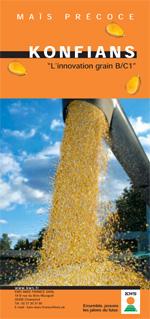 Photo du Variétés de maïs grain Konfians
