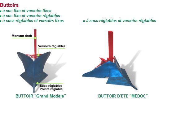Photo du Entretien du sol Buttoir grand modèle, buttoir Médoc